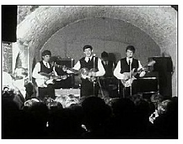The Beatles at the Cavern in 1962