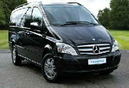 One of our luxury vehicles for your Beatles tour