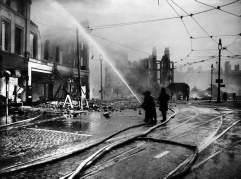 Liverpool during the second world war blitz