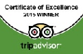 Liverpool Beatles Tours Certificate of Excellence for Trip Advisor